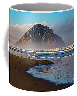Morro Rock And The Shoreline Coffee Mug
