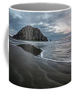 Coffee Mug featuring the photograph Morro Rock by Margaret Pitcher