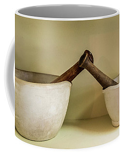 Coffee Mug featuring the photograph Mortar And Pestle by Paul Freidlund
