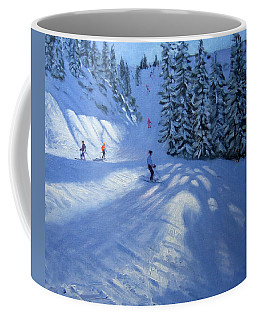 Morzine Ski Run Coffee Mug