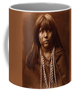 Mosa, Mohave Girl, By Edward S. Curtis, 1903 Coffee Mug