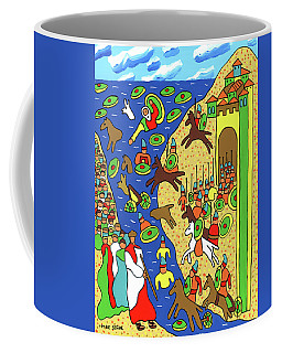 Moses Parting The Red Sea Coffee Mug