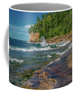 Mosquito Harbor Waves  Coffee Mug