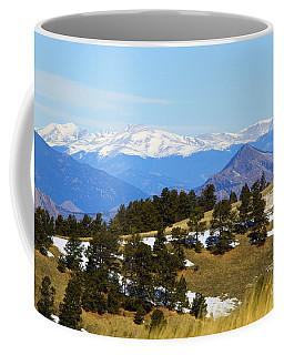Mosquito Range Mountains Coffee Mug