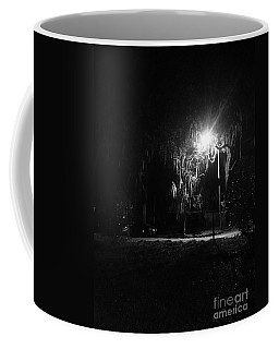 Moss Park Black And White  Coffee Mug