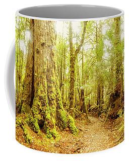 Mossy Forest Trails Coffee Mug