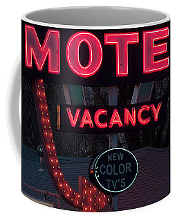 Motel-pink Coffee Mug