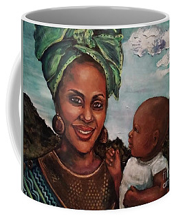Mother And Child 2017 Coffee Mug