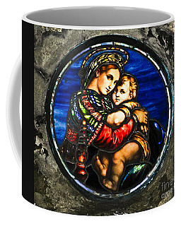 In God We Trust Wall Art Print Coffee Mug by Carol F Austin