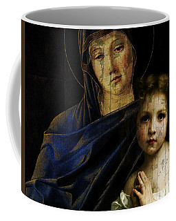 Coffee Mug featuring the mixed media Mother And Child Reunion  by Paul Lovering