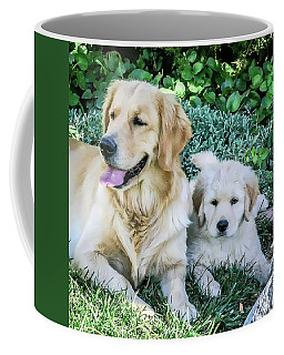 Mother And Pup Coffee Mug