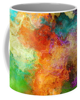 Mother Earth - Abstract Art Coffee Mug