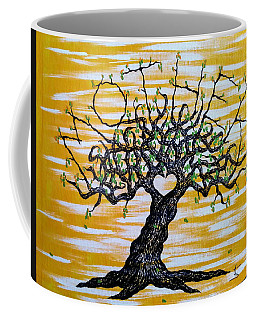 Coffee Mug featuring the drawing Mother Love Tree by Aaron Bombalicki