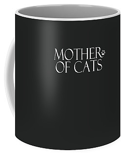 Mother Of Cats- By Linda Woods Coffee Mug