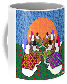 Mothers And Daughters Dancing To The Sun Coffee Mug