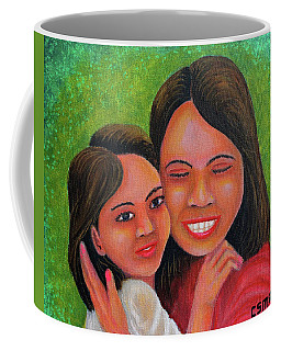 Mother's Comfort Coffee Mug by Cyril Maza