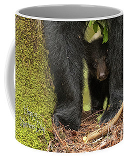 Mothers Day Bear Card Coffee Mug by Everet Regal