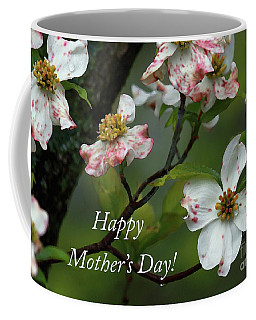 Coffee Mug featuring the photograph Mother's Day Dogwood by Douglas Stucky