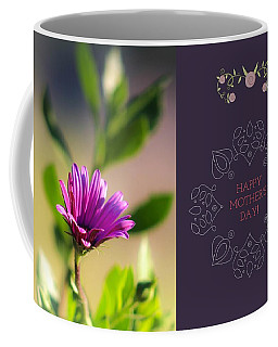 Coffee Mug featuring the photograph Mother's Day Flower by Alison Frank