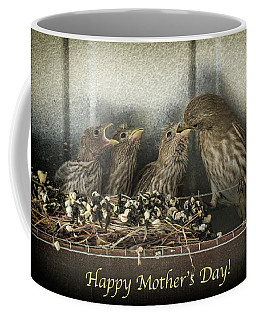 Mother's Day Greetings Coffee Mug by Alan Toepfer