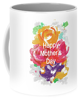 Mother's Day Roses- Art By Linda Woods Coffee Mug by Linda Woods