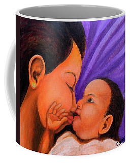 Mother's Love Coffee Mug by Cyril Maza