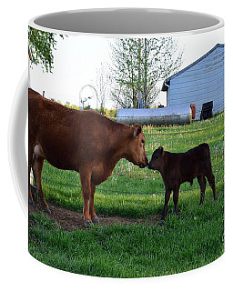 Coffee Mug featuring the photograph Mothers Love by Mark McReynolds