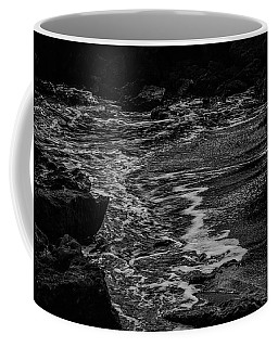 Coffee Mug featuring the photograph Motion In Black And White by Nicole Lloyd