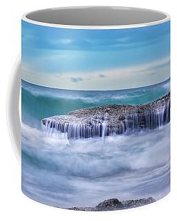 Motion In Blue Coffee Mug