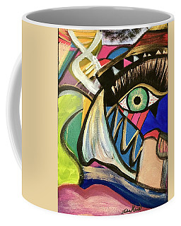 Motley Eye 3 Coffee Mug
