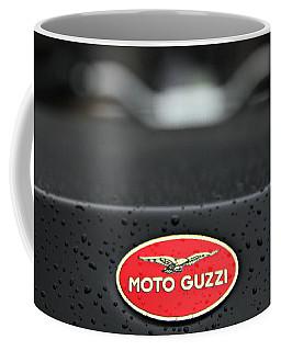 Coffee Mug featuring the photograph Moto Guzzi 11 by Katie Wing Vigil
