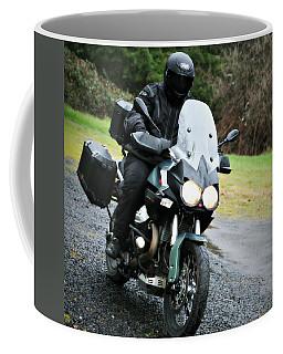 Moto Guzzi In Rain Coffee Mug