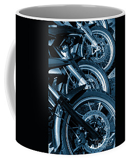 Motorbike Wheels Coffee Mug