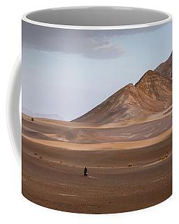 Motorcycles In Persian Desert Coffee Mug