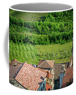Motovun Istrian Hill Town - A View From The Ramparts, Istria, Croatia Coffee Mug