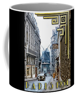 Coffee Mug featuring the photograph Moulin - Montmartre by Chuck Staley