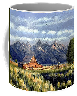 Moulton Barn At The Grand Tetons Coffee Mug