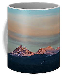 Mount Aragats, The Highest Mountain Of Armenia, At Sunset Under Beautiful Clouds Coffee Mug