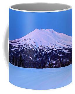 Mount Bachelor Before Sunrise Panorama Coffee Mug
