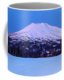 Mount Bachelor Before Sunrise Coffee Mug