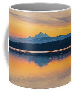 Mount Baker Bay Sunrise Reflection Coffee Mug
