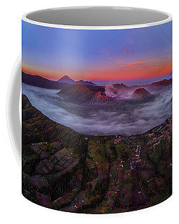 Mount Bromo Misty Sunrise Coffee Mug