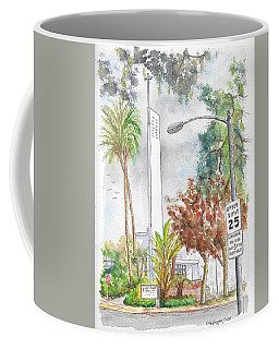 Mount Calvary Lutheran Church, Beverly Hills, California Coffee Mug