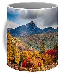 Coffee Mug featuring the photograph Peak Fall Colors On Mount Chocorua by Jeff Folger