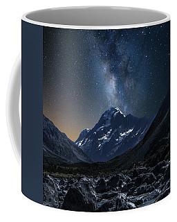 Mount Cook At Night Coffee Mug