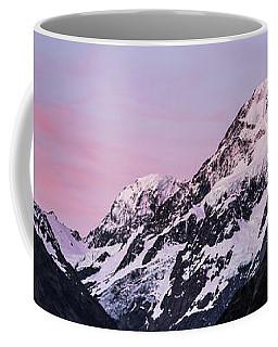 Mount Cook Sunset Coffee Mug