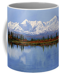 mount Denali in Alaska Coffee Mug