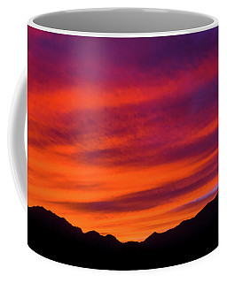 Mount Franklin Purple Sunset Coffee Mug