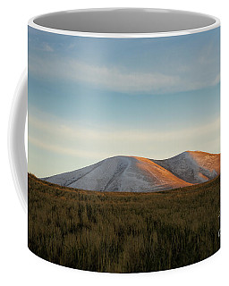 Mount Gutanasar In Front Of Wheat Field At Sunset, Armenia Coffee Mug