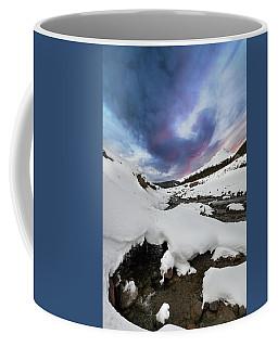 Mount Hood In Winter Coffee Mug